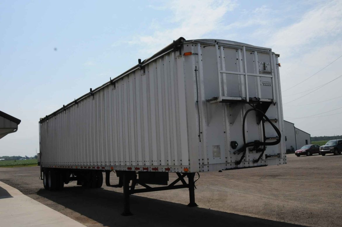 Used Walking Floor Trailer 2008